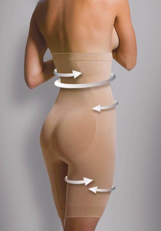 Anti-Cellulite Shapewear - Hoher Bund